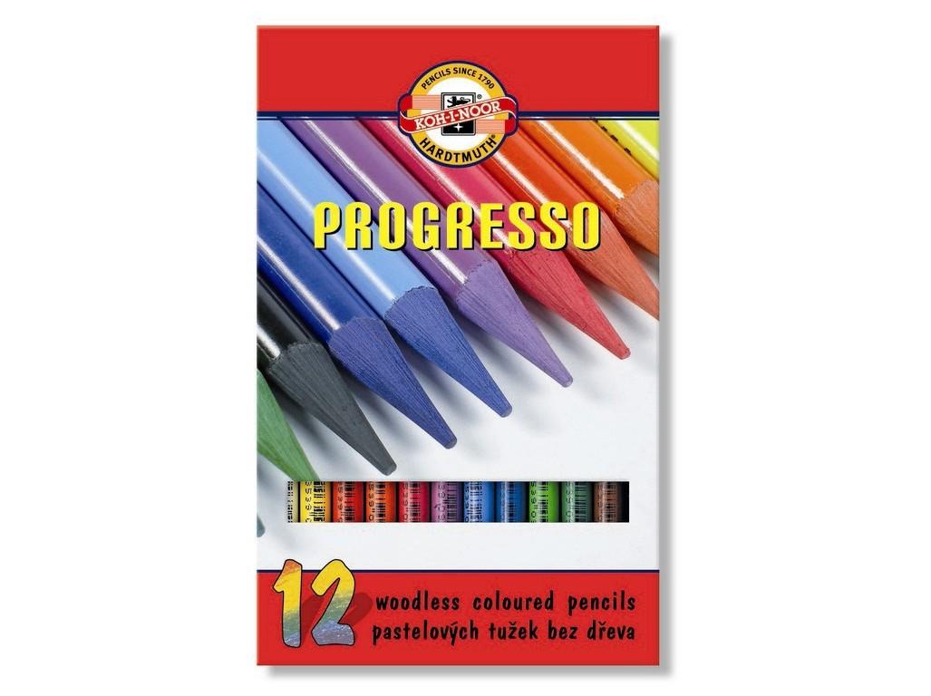 Lápis Integral Progresso 12 Cores KOH-I-NOOR