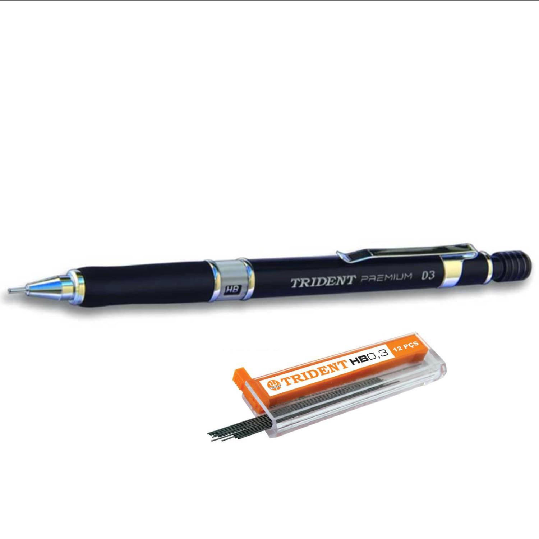 Lapiseira Trident Premium - 0,3mm + Caixa de Grafite