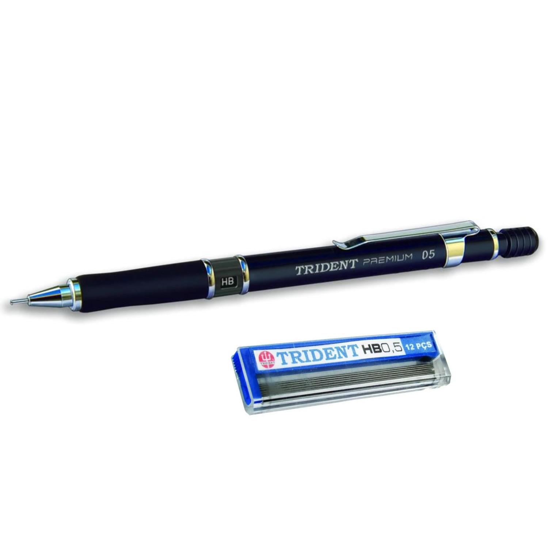 Lapiseira Trident Premium - 0,5mm + Caixa de Grafite
