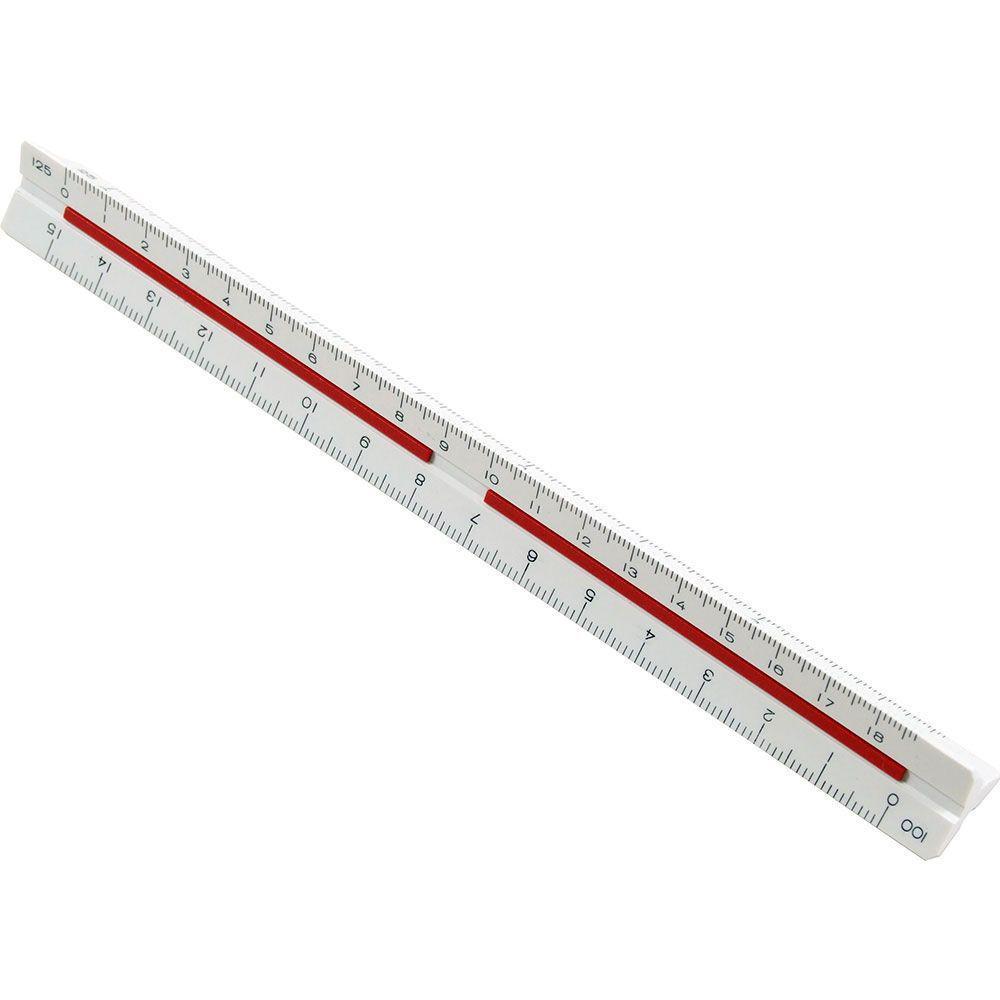 Mini Escalimetro triagular Trident - ME-15