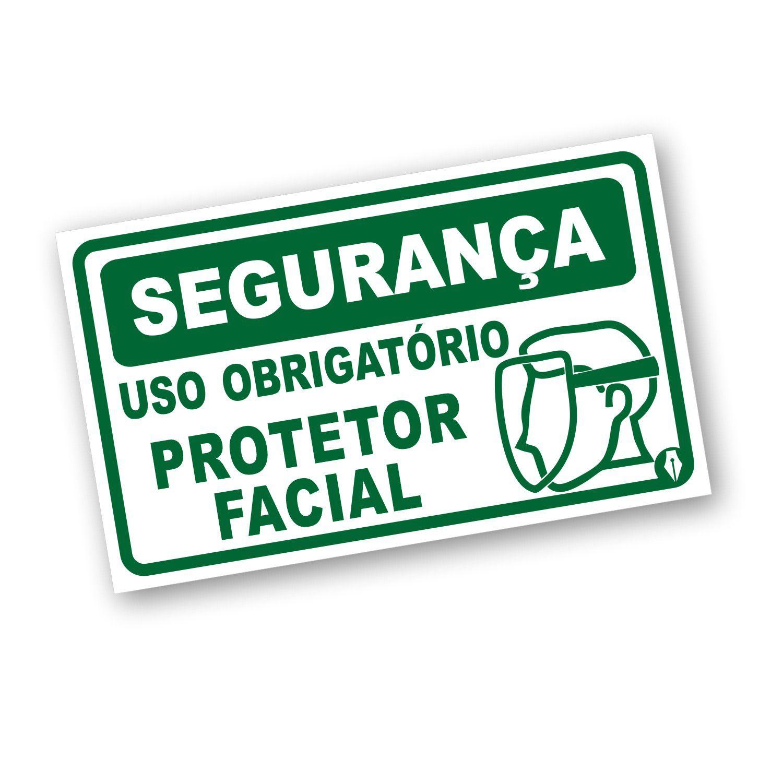 Placa EPI Protetor Facial