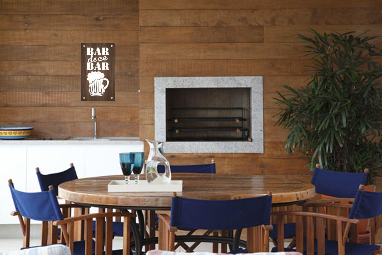 Quadro Decorativo Bar Doce Bar - Cerveja