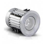 Balizador LED de Solo 0,5w  Redondo Embutir Uso Externo IP65