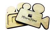 Case Madeira  Câmera p/ Pen Drive Wood Film