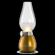 Lamparina LED de Mesa Sopro Recarregável Dimerizável