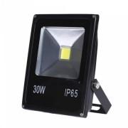 Refletor LED 30W SLIM Bivolt Uso Externo