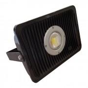 Refletor LED 70W 1 Lente Bivolt Uso Externo