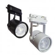 Spot para Trilho Eletrificado com Lâmpada Dicroica 6W Luz Amarela