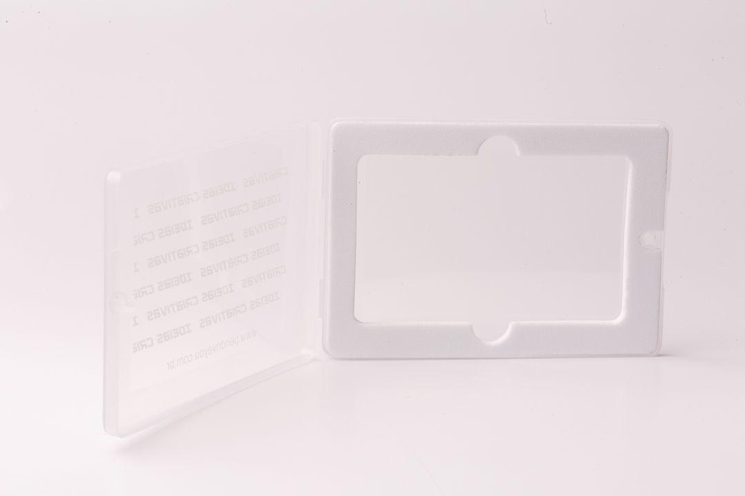 Case Plástico para Pen Card Retangular