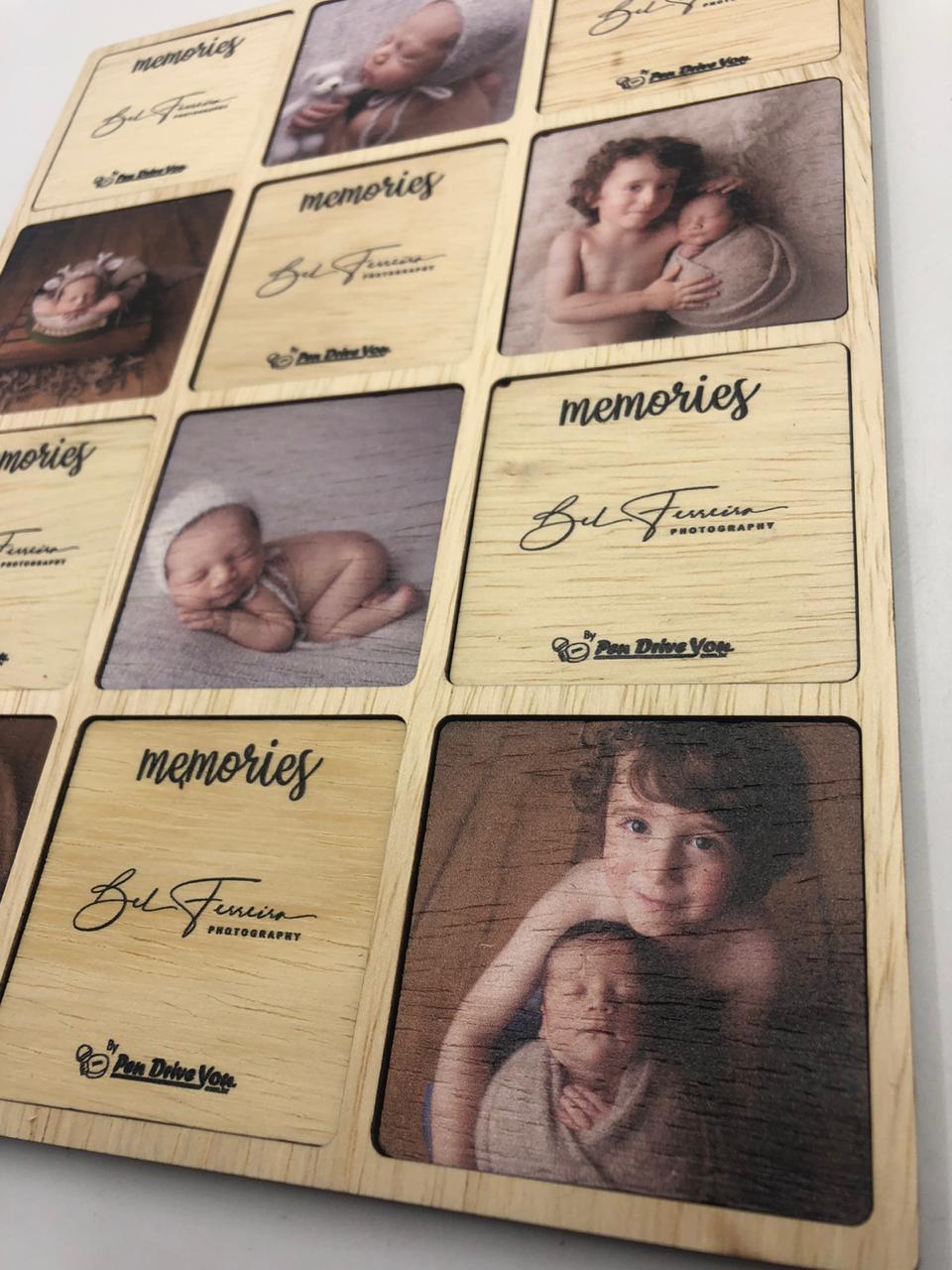 Jogo da Memória 12 - Memories Família