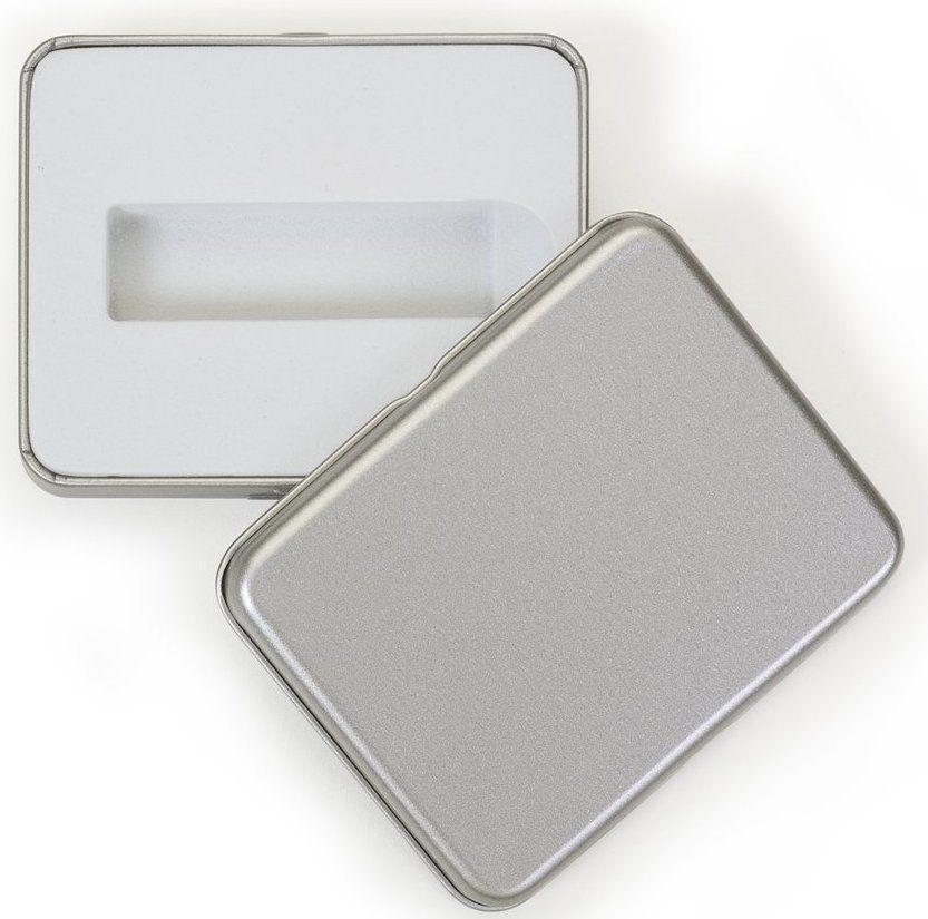 Kit Pen Drive 32GB Full Color Branco  + Case Metal F Personalizados