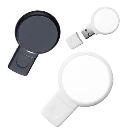 Pen Drive 32GB Plástico Balão Preto Personalizado