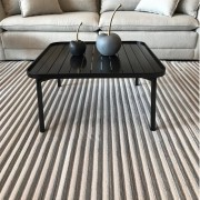 TAPETE STRIPES 2,50X3,50 CINZA