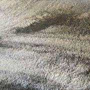 TAPETE VICENZZA PALERMO SOFT 3m redondo + 2 Passarelas (1,50x1,00)  PRATA