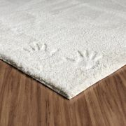 TAPETE VICENZZA PALERMO SOFT MP 2,50X1,00  BRANCO