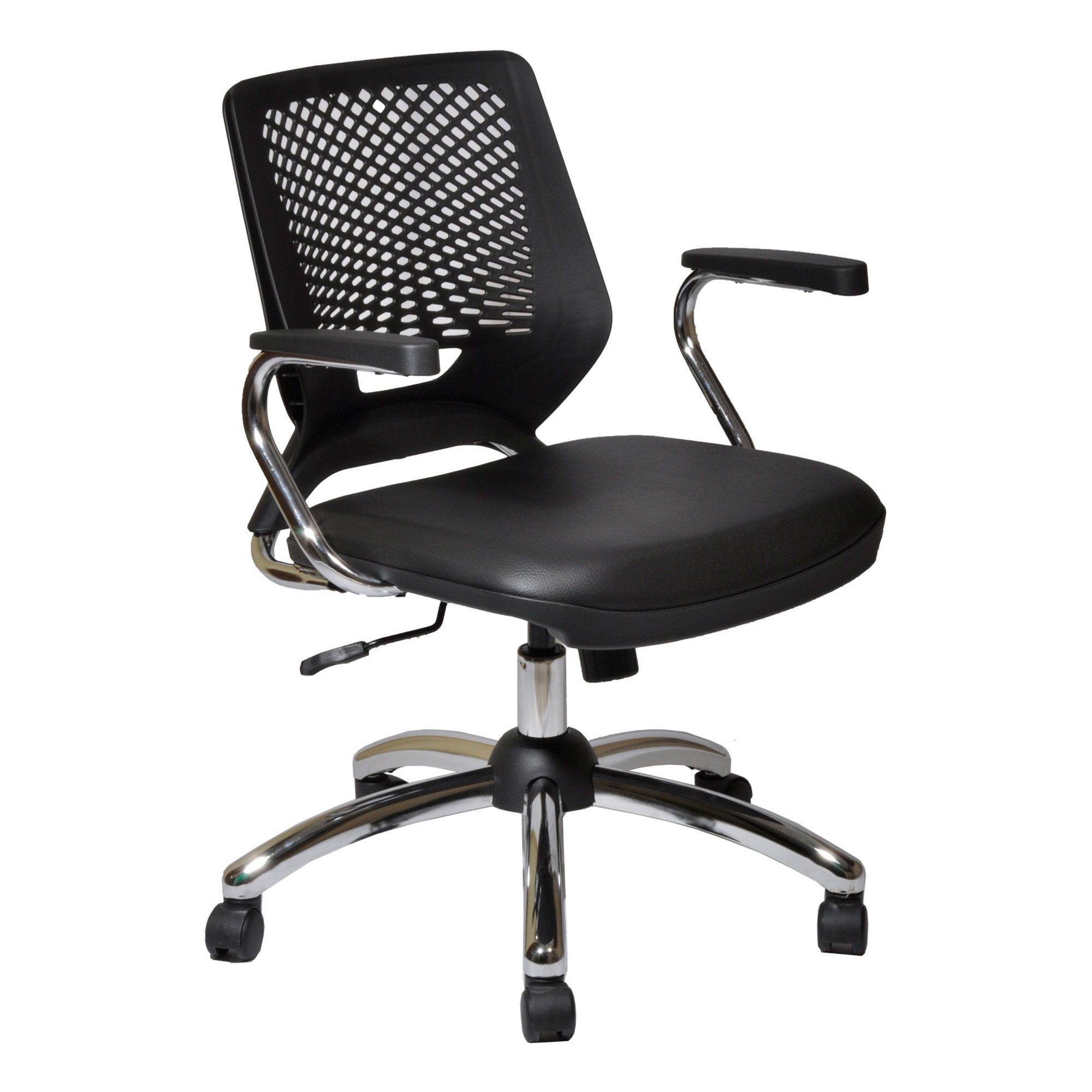 Cadeira Beezi revestida couro sintético Facto