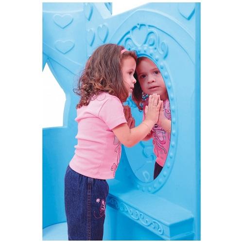 CASINHA INFANTIL CASTELO FROZEN DISNEY    - Casinha Infantil Decorlazer