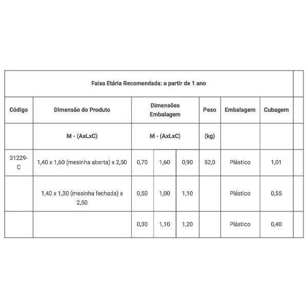 CASINHA DE CAMPO COM KIT FLY   - Casinha Infantil Decorlazer