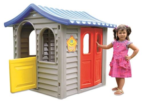 CASINHA INFANTIL ENCANTADA    - Casinha Infantil Decorlazer