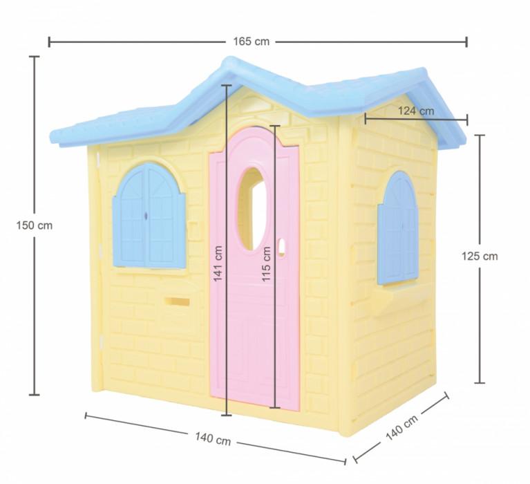 Casinha Infantil Tropical Plus Xalingo  - Casinha Infantil Decorlazer