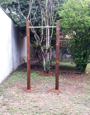 EQUIPAMENTO DE GINÁSTICA BARRA SIMPLES    - Casinha Infantil