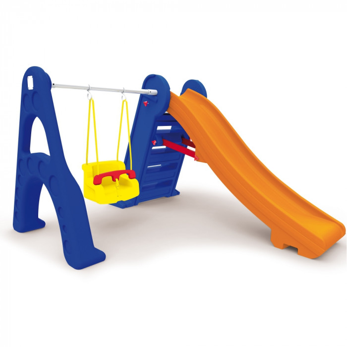 Escorregador com Balanço Xalingo  - Casinha Infantil Decorlazer