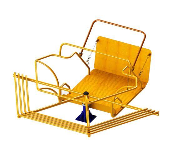 Gira-Gira infantil Adaptado Cadeirante