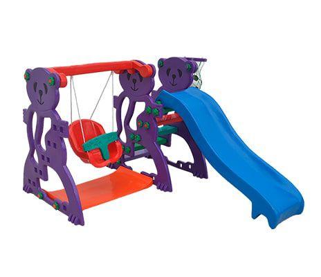 Play Junior 3 em 1 Mundo Azul   - Casinha Infantil