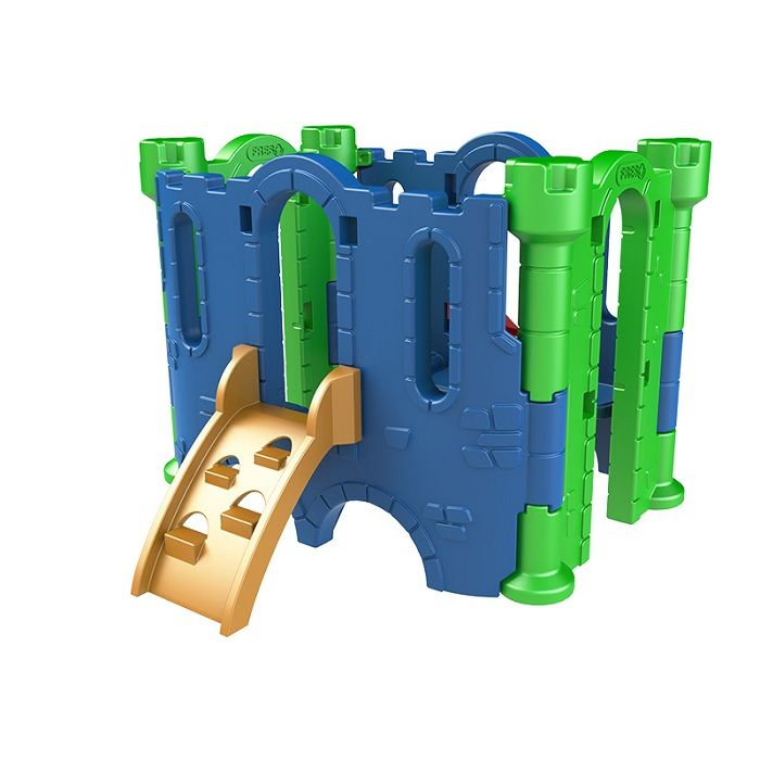 PLAYGROUND DE PLÁSTICO CASTELO PETIT    - Casinha Infantil Decorlazer