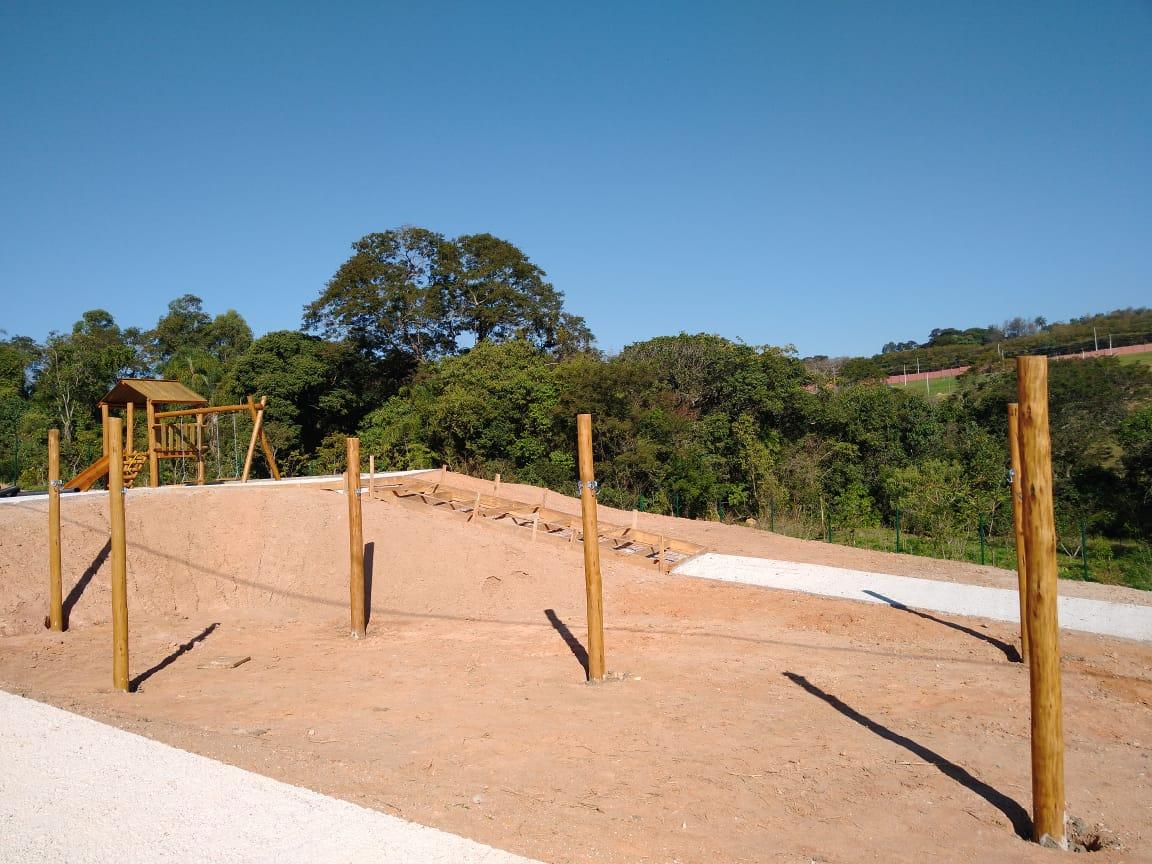 PLAYGROUND DE TRONCO Redário  - Casinha Infantil Decorlazer