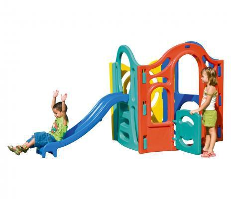 Standard Playground de Plastico Mundo Azul   - Casinha Infantil