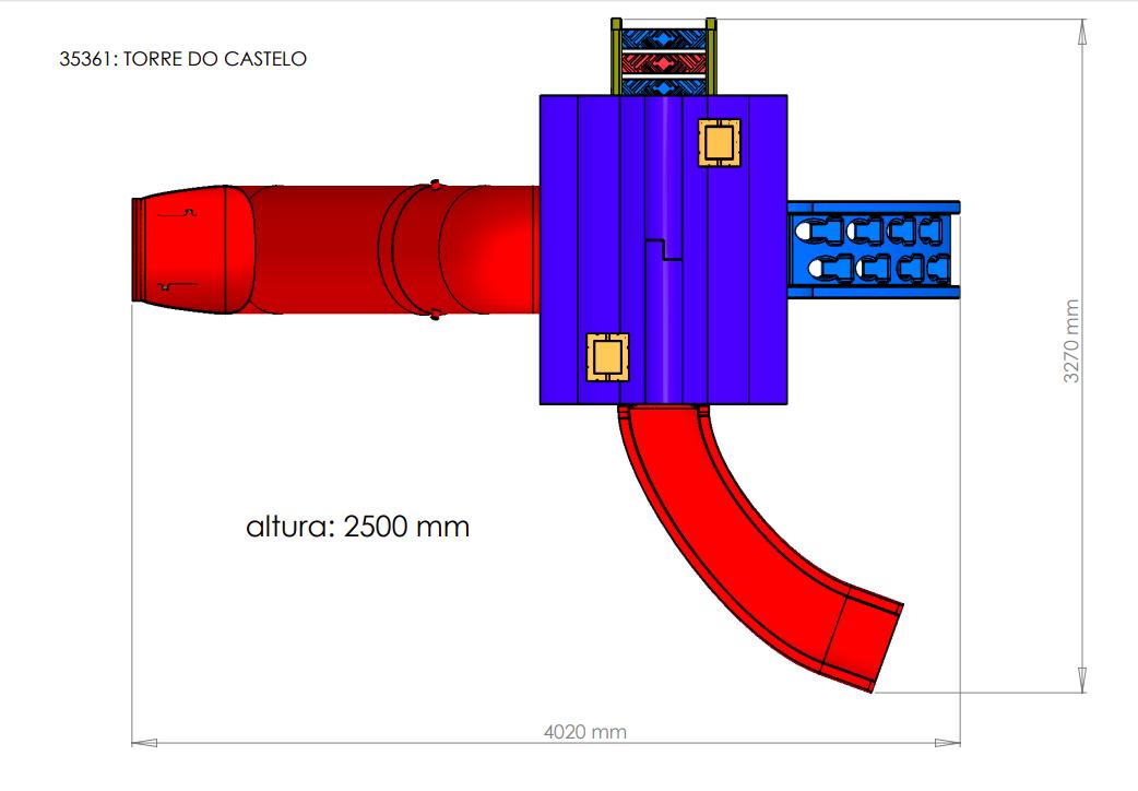 TORRE DO CASTELO FRESO   - Casinha Infantil Decorlazer
