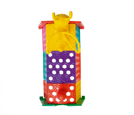 TÚNEL SWEET BEE MUNDO AZUL    - Casinha Infantil