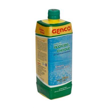 Algicida de Choque Pool Trat Genco 1 Litro