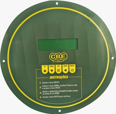 Bomba de calor Elétrica CBE 20S com painél para piscinas de até 20.000 litros.
