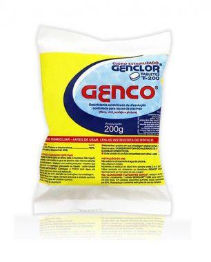 Cloro em Tabletes Genclor T-200 Genco 200g