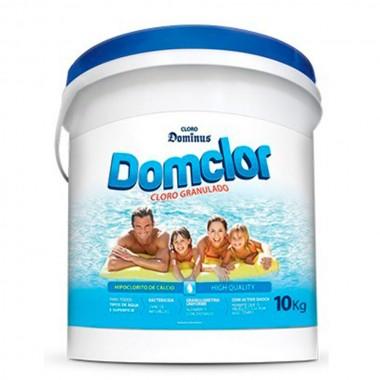 Cloro Granulado para piscina 10 Kg Tradicional 65% Domclor