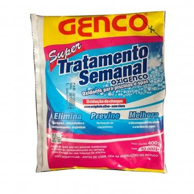 Tratamento Semanal para Piscina Oxigenco - Genco