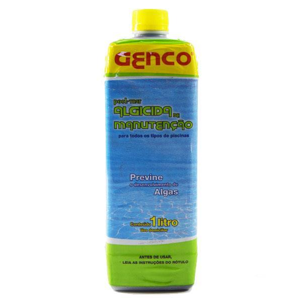 Algicida de Manutenção Pool Trat Genco 1 Litro