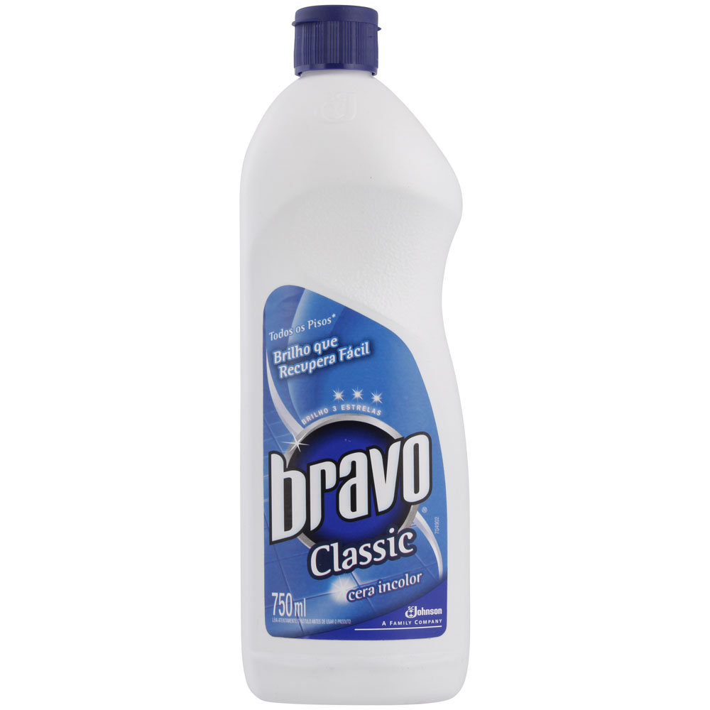 Cera Incolor Bravo 750ml