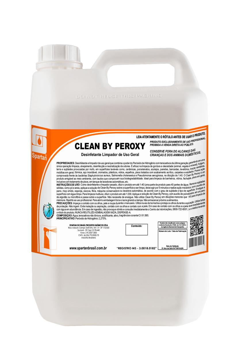 Clean By Peroxy - Substitui o álcool 70%/90% para limpeza de objetos e superfícies.