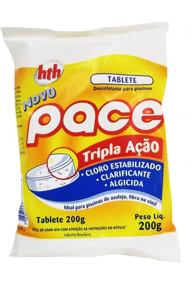 Cloro em Tablete para Piscina Tripla Ação 200g HTH