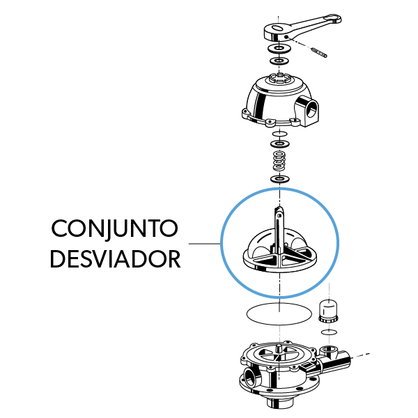 Conjunto Desviador VS6TP15