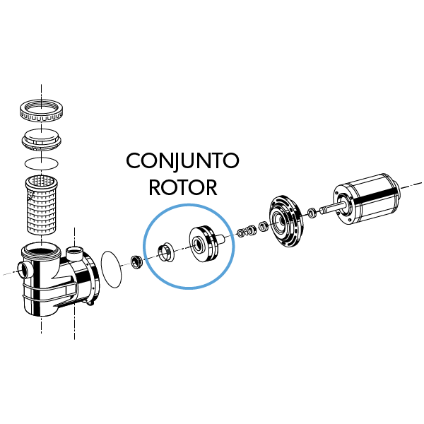 Conjunto Rotor '2B'