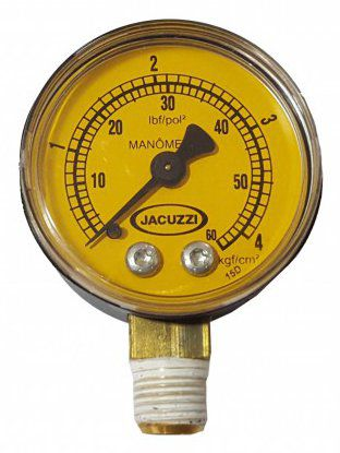 Manômetro para Filtro Jacuzzi 0-60 JACUZZI