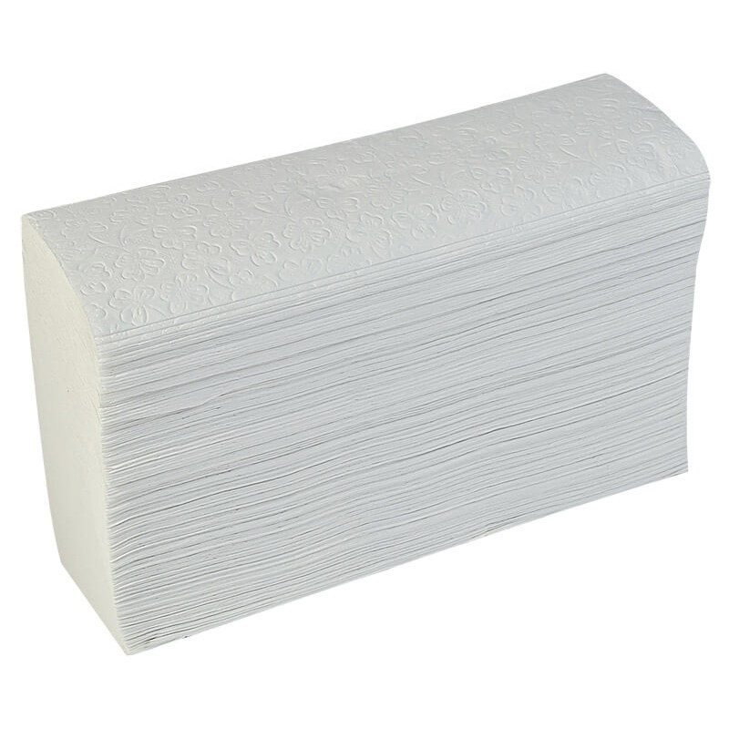 Papel Interfolha Branco 3D 23x27 com 1250 Baby