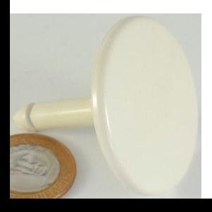 Puxador PO15E ABS Branco