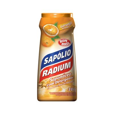 Sapólio Radium em Pó Laranja 300g