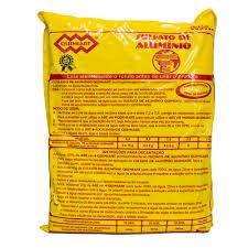 Sulfato de alumínio 2kg Quimiart