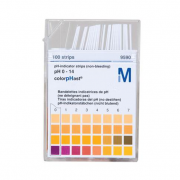 Papel Indicador pH 0-14 (Merck)